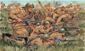 Italeri 6057 - 1/72 Infantrie Russe (Seconde Guerre Mondiale / 2. Seconde