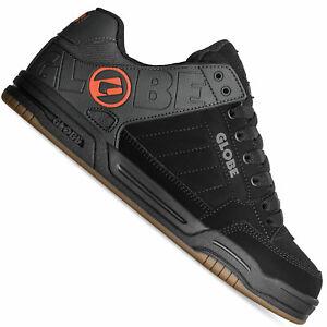 Globe Tilt Herren-Skateschuhe Noir Split/Orange Chaussures Baskets Patins