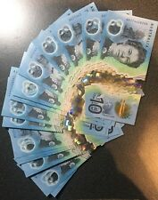 🌟Rare 'A' Series $10 Dollars 2017 Prefix AG UNC Australian Notes Collect