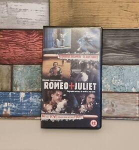 Romeo and Juliet -  VHS - Leonardo DiCaprio - Still Sealed