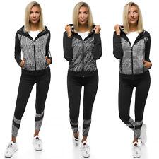 Trainingsanzug Sportanzug Jogginganzug Hose Sweatshirt Damen OZONEE 14097 MIX