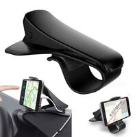 Universal Car Dashboard Mount Clip Holder Mobile Cell Phone GPS Stand HUD Cradle