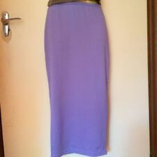 Polyester Straight, Pencil Hand-wash Only Solid Skirts for Women