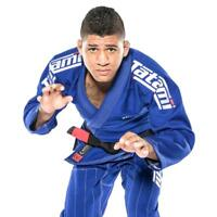 Tatami Estilo 6.0 BJJ Gi Blue & White Premium Jiu Jitsu Uniform Mens Suit 6