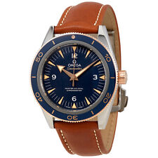 Omega Seamaster 300 Automatic Blue Dial Mens Watch 233.62.41.21.03.001