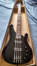 Nouveau 4 string electric bass guitar with Active Pick Ups Noir
