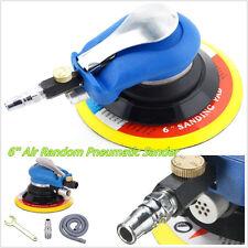 Profession Car 6''Air Random Orbital Sander Pneumatic Disc Polisher Grinding Kit