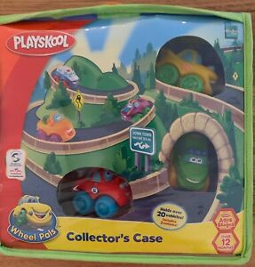 playskool wheel pals  collectors case with 3 cars NEW