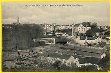 cpa 77 - CHÂTEAU LANDON (Seine et Marne) Vue Générale Côté Sud en 1911