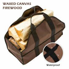 Canvas Log Carrier