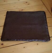 """NEW ♡ BROWN  PILLOW COVER ♡ BEAUTIFUL LARGER SIZE ♡ 18 """" X 18"""""""