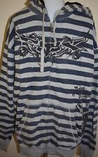 Fox Racing Sweatshirt 2XL 2X XXL Stripe Skeleton Ashes Dust Skull dirt bike moto