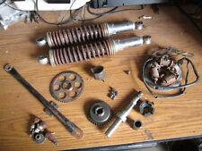 1976 Hodaka 100 Dirt Squirt Shocks Stator Idler Gear Brake Stay Etc Parts Lot