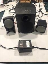 Boston Digital BA745 Computer Speakers With Sub & Genuine Power Adapter