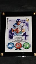 2010 Topps Attax Brett Favre Football Card