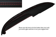 RED STITCH TOP DASH DASHBOARD LEATHER COVER FITS BUICK LESABRE COUPE 1960