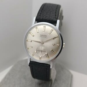 Vintage Gruen 510 Men's manual winding watch 17 jewels swiss  1960s