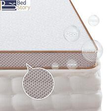 BedStory 180x200CM Gel-Memory Schaum Topper Matratze Matratzenauflage 7,6CM Höhe