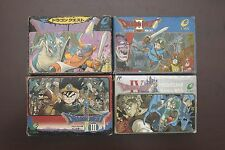FAMICOM FC Dragon Quest Warrior I II III IV 1 2 3 4 Boxed Japan games US Seller