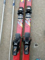 Rossignol 49 LTS Series AR 215cm cross country skis wbindings, ski boots  poles