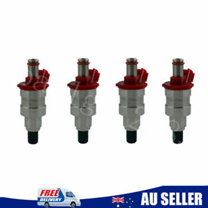 4Pcs Fuel Injector G609-13-250 For Mazda B2600 UF Ford Raider Courier 2.6L G6