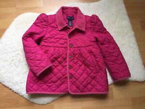 Ralph Lauren Girls Pink Puffer Jacket Coat Sz 6 Years