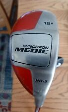 SYNCHRON Medic 18* HB-3 Utility Hybrid iron Club Graphite Right Hand