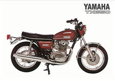 YAMAHA Poster TX650 TX650A 1974 Suitable to Frame XS1 XS2 XS650