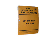 International 504 2504 Farm Tractor New Part Book Ih