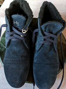 ALEXANDER HOTTO SUEDE  BOOTIES GOMMUS  S41 MADE IN ITALY NEW IN BOX RRP420