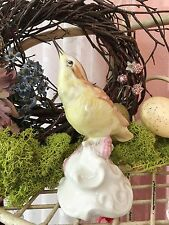 """""""Early Bird""""  Dresden Porcelain Sandizell, Hoeffner &Co Wren Bird Figurine"""