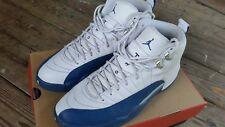 Nike Air Jordan 12 XII Retro French Blue Metallic Silver 130690 113 Sz 10