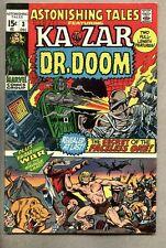 Astonishing Tales #3-1970 fn+ Ka-Zar Doctor Doom Wally Wood