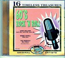 (EI514) 60's Rock N Roll, 16 tracks original artists - 2000 sealed CD
