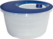Emsa ensalada Spinner translúcido azul/blanco 4l COMO UTILIZABLE Colador
