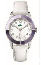 New Authentic LACOSTE Advantage Leather White Multicolor 2000459