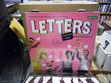 Letters and Numbers Too vinyl LP 1974 Sesame Street Records Sealed [Jim Henson]