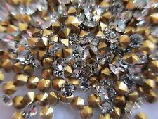 40 Gross SS8 / PP17 Crystal Rhinestones Fully Machine Cut Stones w/ Orig Packs