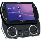 Sony PlayStation Portable PSP Go Piano Black Handheld Core Pack Game System Mint