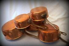 French copper pans saucepan cuisine professional gift casseroles en cuivre