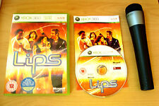 Lips: 1st Original, Wireless Microphone For Microsoft Xbox 360 Karaoke Sing Game