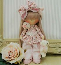 Rag doll Handmade in UK Tilda doll Ooak doll Art doll MELISSA doll  8 inch tall