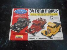 Vintage Linberg '34 Ford Pickup Model Truck Parts.