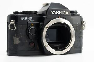 Yashica FX-D Quartz SLR 35mm Film Camera Body, Fully working but read!.