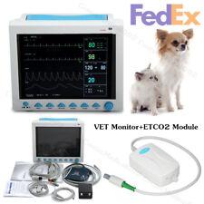 Veterinary Co2 Patient Monitor Vet Vital Signs Monitor 6 Parametersetco2usa