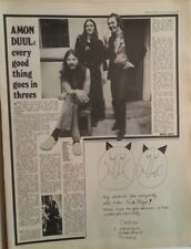 More details for amon duul 'good things go in threes' 1972 uk  article / clipping