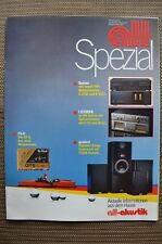 Sansui, Luxman, SEIKI, Quadral Brochure, 16 pages, from 84, prices, C/B 2101,c/m 02,amu