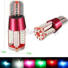 2x T10 194 168 Car Side Wedge Park Light Bulb Error Free Canbus 3014 SMD 57 LED