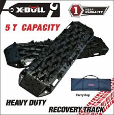 X-BULL New Recovery Traction Tracks Sand Mud Snow Track Tire Ladder 4WD Black