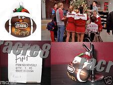 "Cory Monteith. Glee TV: Finn's Football Ornament from ""A Very Glee Christmas"""